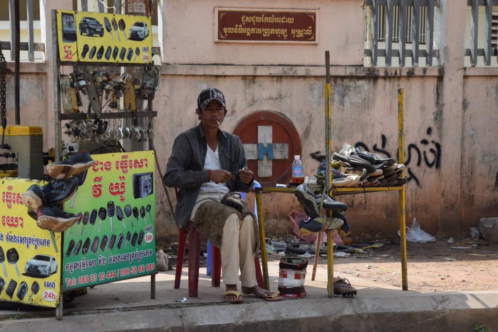 Straßenverkauf Siem Reap