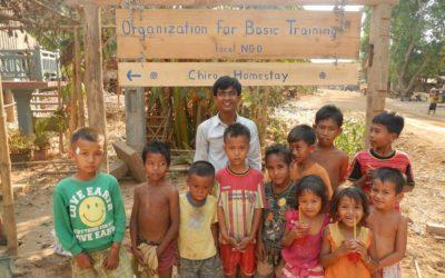 Als Freiwillige in der OBT – Organization for Basic Traininig Cambodia