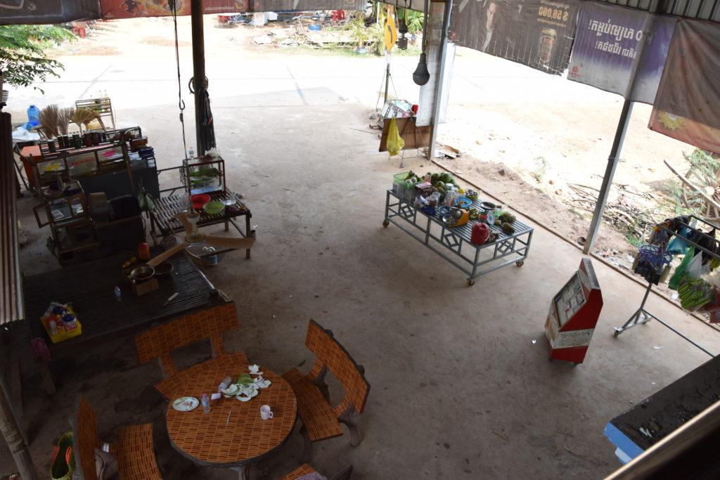 Küche im Freien Kambodscha
