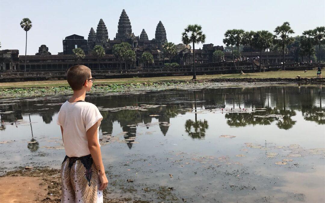 Reisen bedeutet loszugehen, um sich selbst zu finden